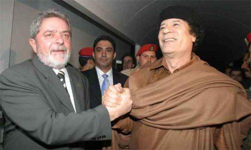 A conexão Lula-Kadafi