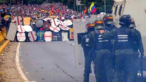 Maduro resiste à Operação Liberdade