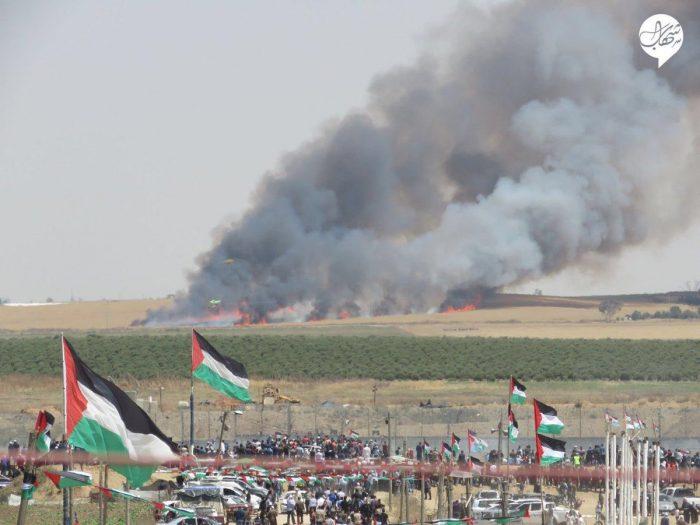 Hamas lança  balões incendiários  contra Israel