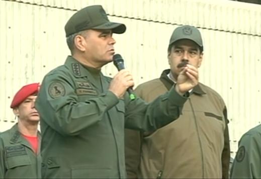 Resultado de imagem para general Padrino Nicolas Maduro
