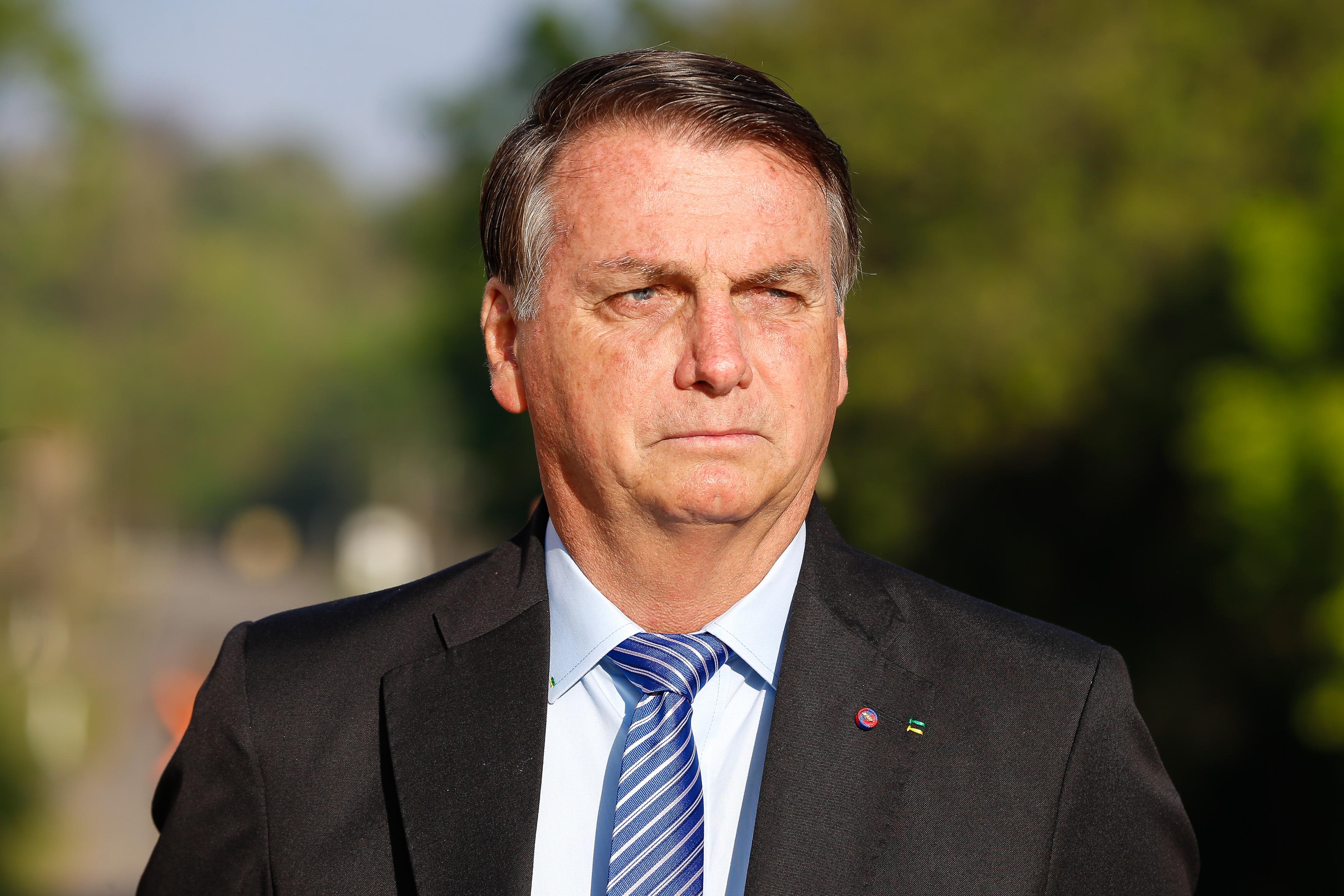 Bolsonaro Chega Ao STF Para Reuni U00e3o Com Luiz Fux Cruso U00e9