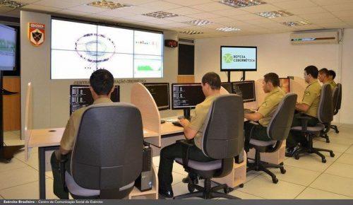 Divulgação/Exército Brasileiro/Cibernética